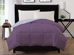Reversible Comforter-Purple-2 sizes