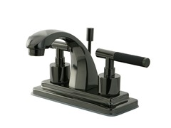Water Onyx Lavatory Faucet, Black Nickel