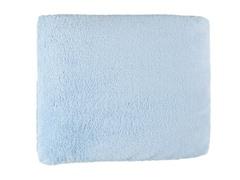 Cozy Fleece 50x60 Throw-Blue
