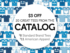 20 Great Tees from the Catalog!
