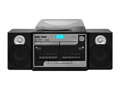 Turntable Boombox Multimedia System