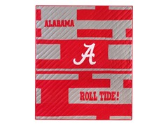 University of Alabama Quilted Throw