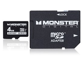 Monster Safari Class 10 microSD Cards