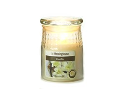 3 LED Wax Jar Flameless Candle Ivory 3.5x5