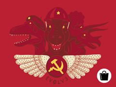 Dinosaurs Who Are Communist.. Zip Tote