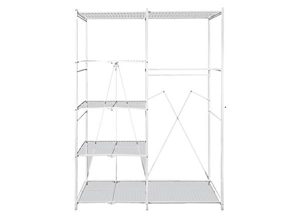 Origami Foldable Over the Door 36 Pair Steel Shoe Rack Closet ... | 441x588