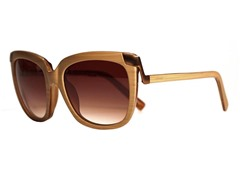 Juliet Sunglasses, Light Woodgrain