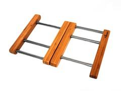 Bamboo Expandable Trivet 7.5x7.5