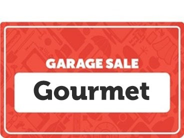 Gourmet Garage Sale