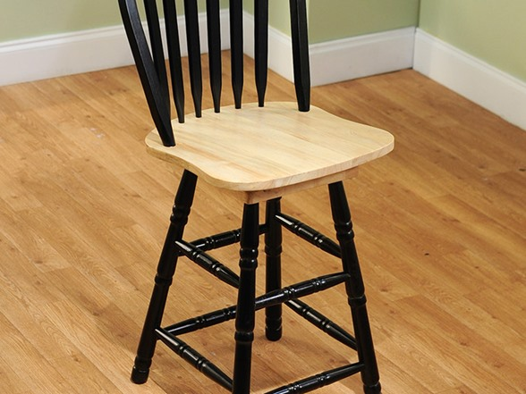 Arrowback Stool 2 Sizes 5 Colors
