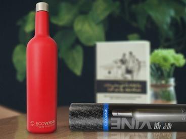 Ecovessel Steel Wine Bottle 2-Pack