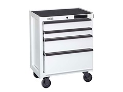 26-Inch 4-Drawer Cabinet, White