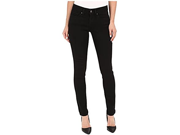 Image of Levis Womens 711 Skinny Soft Black