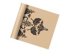 Damask Print 6P Free Yoga Mat, 3mm