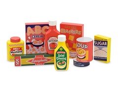 Dry Goods Pantry Products Set