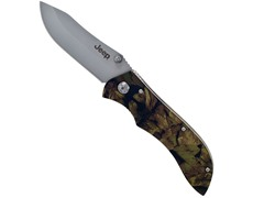 Jeep Camo Stainless Steel Folding Knife