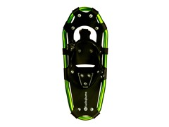 "Lucky Bums Steel Snowshoes - 19"" Green"