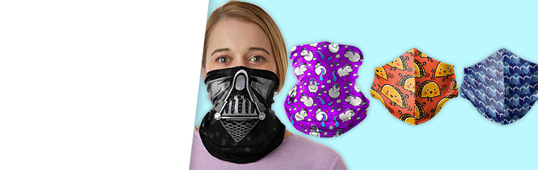 Fashionable Facial Covers