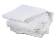 Microfiber Sheet Set: White (Multiple Sizes)