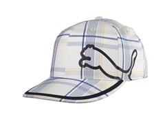 Puma Monoline Fitted Hat - White/Blue