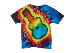 Kids Tee - Rainbow Guitar (XS-L)