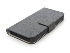 Happy Flip Case for iPhone 5 - Black