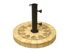Honeycomb Marble Mosaic Umbrella Base