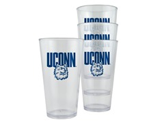 Connecticut Plastic Pint Glasses 4-Pk