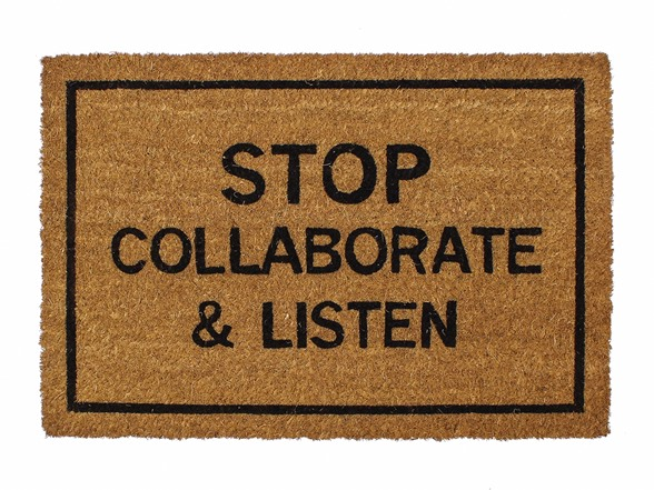 Clever doormats stop collaborate and listen - Clever doormats ...