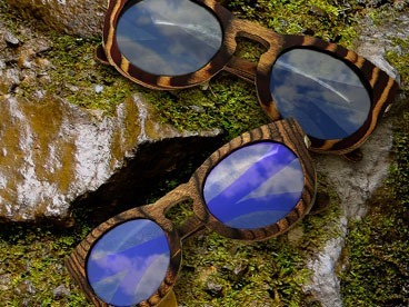 Spectrum	Wood Sunglasses