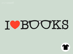 I Love Books Remix - Sea Foam