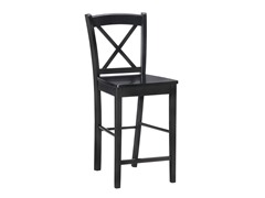 X-Back  Stool - Black (2 Sizes)