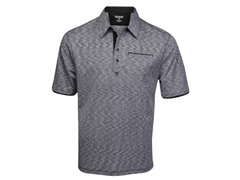 OGIO Men's Voltage Polo - Black/White