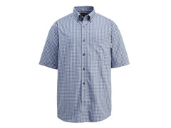 Barton Cotton Button-Down Shirt, Blue
