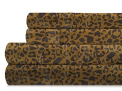350TC Sheet Set-Leopard-5 Sizes