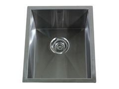 15-Inch Bar/Prep Sink, Stainless Steel