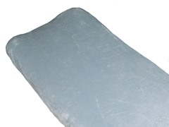 Minky Changing Pad Cover - Grey