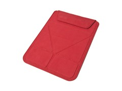 "Microsuede Sleeve for 7"" Tablets - Red"