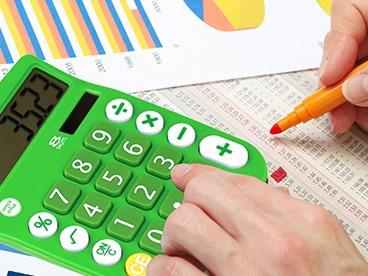 8 Digit Dual Powered Calculator: 6 Pk