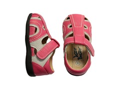 Squeaker Shoe - Alex, Pink (4-8)