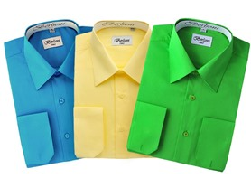 Men's Dress Shirts - French Cuff