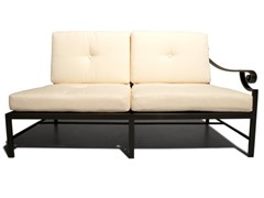 Strathwood Falkner Sectional Left Arm Loveseat w/ Cushions