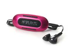 GPX 4GB MP3 Player - Pink