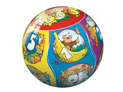 40-Piece Numbers 3-D Puzzle Ball