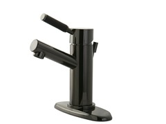 Lavatory Faucet with Pop-up, Nickel