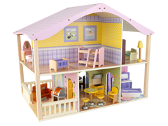 Pastel Swivel Deluxe Doll House