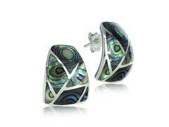 SS Abalone Earring