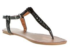 Lalo Thong Sandal, Black