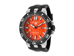 Challenger Watch, Orange / Black