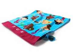 24x50 Kid's Ultimate Towel - 2 Patterns